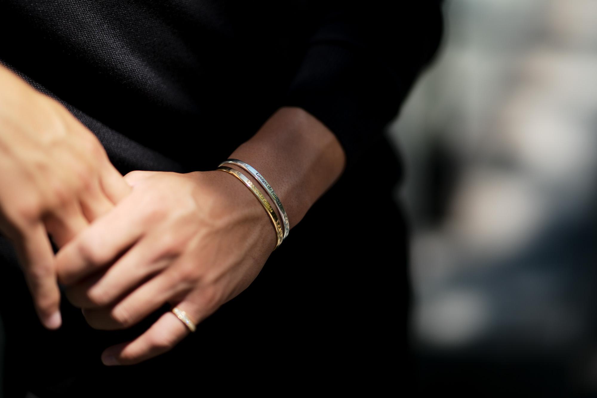 Georges de Patricia(ジョルジュ ド パトリシア) Ghost (ゴースト) 18K GOLD(18K ゴールド) 925 STERLING SILVER (925 スターリングシルバー) WHITE DIAMOND(ホワイトダイヤモンド) ダブル バングル  2020 愛知 名古屋 altoediritto アルトエデリット georgesdepatricia roollsroyce ロールスロイス jewelry ジュエリ