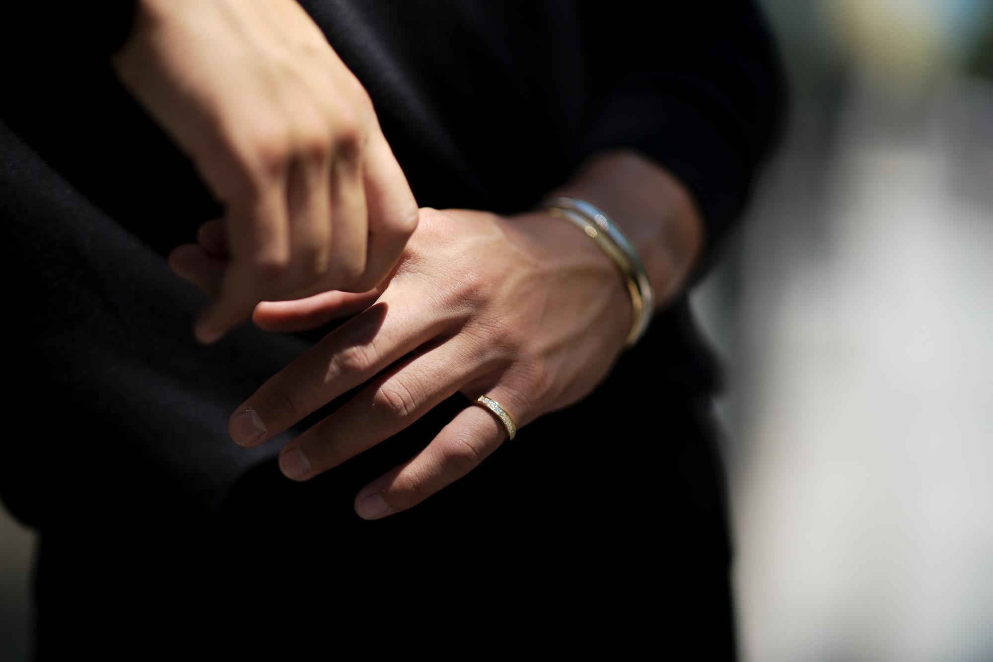 Georges de Patricia(ジョルジュ ド パトリシア) Wraith(レイス) 18K GOLD(18K ゴールド) WHITE DIAMOND(ホワイトダイヤモンド) ピンキーリング 2020 georgesdepatricia ジョルジュドパトリシア altoediritto アルトエデリット リング 指輪 18金 アクセサリー 愛知 名古屋