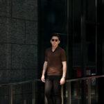 Gran Sasso (グランサッソ) Silk Knit Polo Shirt (シルクニットポロシャツ) SETA (シルク 100%) シルク ニット ポロシャツ GOLD (ゴールド・170) made in italy (イタリア製) 2020 春夏新作のイメージ