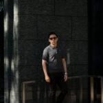 Gran Sasso (グランサッソ) Silk Knit Polo Shirt (シルクニットポロシャツ) SETA (シルク 100%) シルク ニット ポロシャツ GREY (グレー・097) made in italy (イタリア製) 2020 春夏新作のイメージ