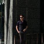 Gran Sasso (グランサッソ) Silk Knit Polo Shirt (シルクニットポロシャツ) SETA (シルク 100%) シルク ニット ポロシャツ NAVY (ネイビー・597) made in italy (イタリア製) 2020 春夏新作のイメージ