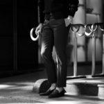 INCOTEX (インコテックス) N35 SLIM FIT (1T0N35) SUPER 100'S WOOLLEN TWILL サージウール スラックス GRAY (グレー・912) 2020 秋冬 【ご予約受付中】のイメージ