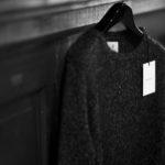 RIVORA (リヴォラ) Cashmere Mohair Silk Round Neck (ラウンドネック セーター) カシミア モヘア シルク ニット クルーネックセーター BLACK (ブラック・010) MADE IN JAPAN (日本製) 2020秋冬 【ご予約受付中】のイメージ