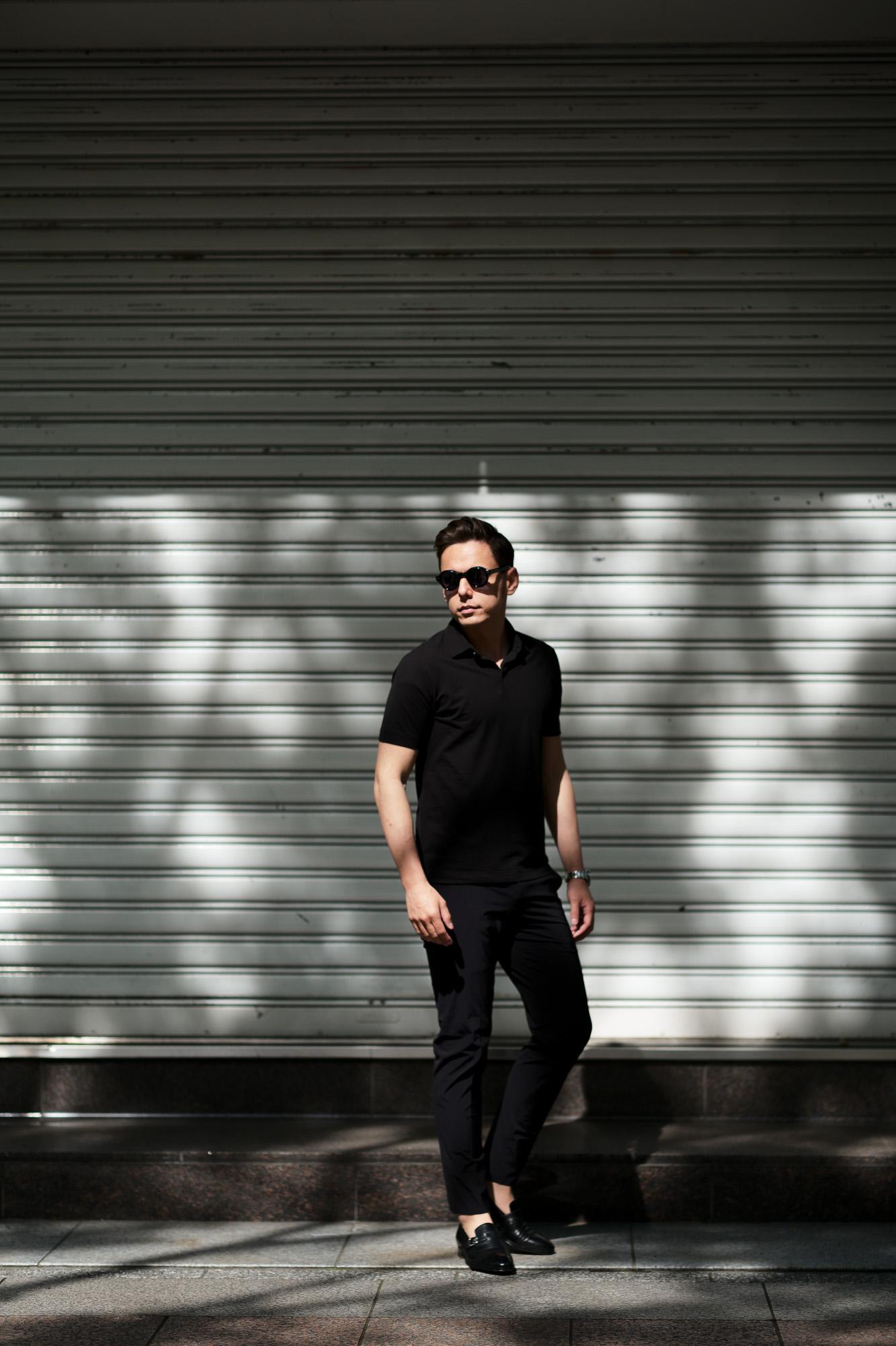 ZANONE(ザノーネ) Polo Shirt ice cotton アイスコットン ポロシャツ BLACK (ブラック・Z0015) made in italy (イタリア製) 2020春夏新作 愛知 名古屋 altoediritto アルトエデリット