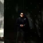 BELVEST (ベルベスト) LIGHTWEIGHT CAPSULE SINGLE JACKET 2PATCH SUPER120's WOOL フラノウール ジャケット BLACK (ブラック) Made in italy (イタリア製) 2020 秋冬 【ご予約受付中】のイメージ