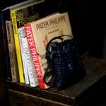 cuervo bopoha(クエルボ ヴァローナ) Satisfaction Leather Collection (サティスファクション レザー コレクション) FLOYD(フロイド) Crocodile Leather(クロコダイルレザー) レザードローストリングバック 巾着 NAVY (ネイビー) Made in Japan(日本製) 2020秋冬【Special Model】のイメージ