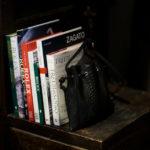 cuervo bopoha (クエルボ ヴァローナ) Satisfaction Leather Collection (サティスファクション レザー コレクション) FLOYD (フロイド) Python Leather (パイソンレザー) レザードローストリングバック 巾着 BLACK (ブラック) Made in Japan (日本製) 2020秋冬【Special Model】のイメージ