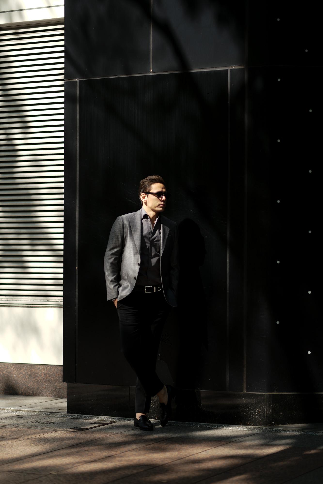 cuervo bopoha (クエルボ ヴァローナ) Sartoria Collection (サルトリア コレクション) Lobb (ロブ) Dominique France (ドミニック フランス) LORRAINE NANCY III (ロレーヌナンシー トロワ) EXCELLENT WOOL × SILK ウールシルク サマージャケット GRAY (グレー) MADE IN JAPAN (日本製) 2020 【Special Special Special Model】【ご予約受付中】ドミニックフランス ドミニクフランス ジャケット 超絶ブランド ドミニクフランス ネクタイ 高級 フランス 愛知 名古屋 altoediritto アルトエデリット