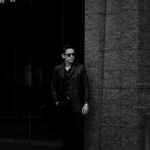 cuervo bopoha (クエルボ ヴァローナ) Satisfaction Leather Collection (サティスファクション レザー コレクション) Vincent (ヴィンセント) BUFFALO LEATHER (バッファロー レザー) レザー Pコート BLACK (ブラック) MADE IN JAPAN (日本製) 2020 秋冬 愛知 名古屋 altoediritto アルトエデリット