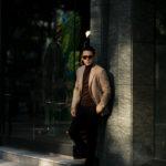 De Petrillo(デ ペトリロ) NAPOLI Posillipo (ナポリ ポジリポ) カシミア モールスキン 段返り3B ジャケット BEIGE(ベージュ・198) Made in italy (イタリア製) 2020 秋冬 【ご予約受付中】愛知 名古屋 altoediritto アルトエデリット カシミヤジャケット カシミアジャケット