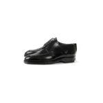 ENZO BONAFE(エンツォボナフェ) ART.EB-21 Apron Front Derby Shoes Du Puy Vitello デュプイ社ボックスカーフ エプロンフロントダービー Uチップシューズ NERO (ブラック) made in italy (イタリア製) 2020 秋冬新作のイメージ