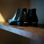 Georges de Patricia(ジョルジュ ド パトリシア) Diablo Crocodile (ディアブロ クロコダイル) 925 STERLING SILVER (925 スターリングシルバー) Crocodile クロコダイル エキゾチックレザー サイドゴアブーツ NOIR (ブラック)【Special Boots】【Staff 私物】のイメージ