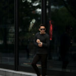 RIVORA (リヴォラ) Cashmere Mohair Silk Round Neck (ラウンドネック セーター) カシミア モヘア シルク ニット クルーネックセーター BLACK (ブラック・010) MADE IN JAPAN (日本製) 2020秋冬 【ご予約受付中】愛知 名古屋 altoediritto アルトエデリット カシミヤ モヘア シルク クルーネック タートルネック 栗生田弓 YUMIAOTA altoediritto アルトエデリット ニット