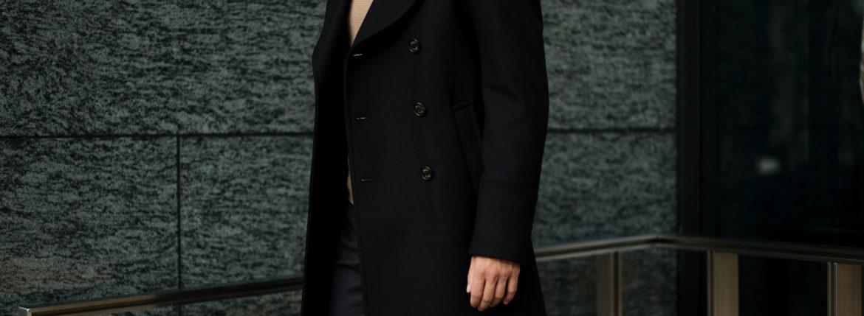 Sealup(シーラップ) GENOVA(ジェノバ) 50002 7591 01 メルトンウール サーモアライニング ロングPコート  BLACK (ブラック・36) MADE IN ITALY(イタリア製) 2020 秋冬【ご予約受付中】のイメージ