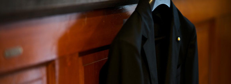 BELVEST (ベルベスト) LIGHTWEIGHT CAPSULE SINGLE JACKET 2PATCH SUPER120's WOOL フラノウール ジャケット BLACK (ブラック) Made in italy (イタリア製) 2020 秋冬新作 【新作入荷】【フリー分発売開始】のイメージ