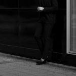 cuervo bopoha (クエルボ ヴァローナ) Sartoria Collection (サルトリア コレクション) Brad (ブラッド) FOUR SEASONS COMFORT JERSEY 4シーズンストレッチジャージ スラックス CHARCOAL GRAY (チャコールグレー) MADE IN JAPAN (日本製) 2020 秋冬のイメージ