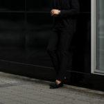 cuervo bopoha (クエルボ ヴァローナ) Sartoria Collection (サルトリア コレクション) Brad (ブラッド) FOUR SEASONS COMFORT JERSEY 4シーズンストレッチジャージ スラックス CHARCOAL GRAY (チャコールグレー) MADE IN JAPAN (日本製) 2020 秋冬新作 【入荷しました】【フリー分発売開始】のイメージ