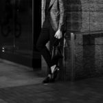 cuervo bopoha (クエルボ ヴァローナ) Satisfaction Leather Collection (サティスファクション レザー コレクション) FLOYD (フロイド) Lizard Leather (リザードレザー) レザードローストリングバック 巾着 BLACK (ブラック) Made in Japan (日本製) 2020秋冬【Special Model】のイメージ