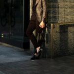 cuervo bopoha (クエルボ ヴァローナ) Satisfaction Leather Collection (サティスファクション レザー コレクション) FLOYD (フロイド) Lizard Leather (リザードレザー) レザードローストリングバック 巾着 BLACK (ブラック) Made in Japan (日本製) 2020秋冬【Special Model】【新作入荷】【フリー分発売開始】のイメージ