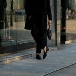 cuervo bopoha (クエルボ ヴァローナ) Satisfaction Leather Collection (サティスファクション レザー コレクション) FLOYD (フロイド) Python Leather (パイソンレザー) レザードローストリングバック 巾着 BLACK (ブラック) Made in Japan (日本製) 2020秋冬【Special Model】【新作入荷】【フリー分発売開始】のイメージ