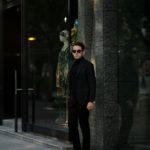 De Petrillo(デ ペトリロ) NAPOLI Posillipo (ナポリ ポジリポ) カシミア モールスキン 段返り3B ジャケット DARK OLIVE(ダークオリーブ・197) Made in italy (イタリア製) 2020 秋冬 【ご予約受付中】のイメージ