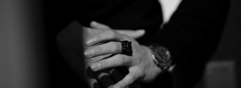 "FIXER(フィクサー) BLACK PANTHER RING ""RUBY"" BLACK RHODIUM(ブラック ロジウム) ブラック パンサーリング ルビー BLACK(ブラック) 2020 【ご予約受付中】【2020.4.11(Sat)~2020.5.03(Sun)】 愛知 名古屋 altoediritto アルトエデリット イルミナティリング コーティング"