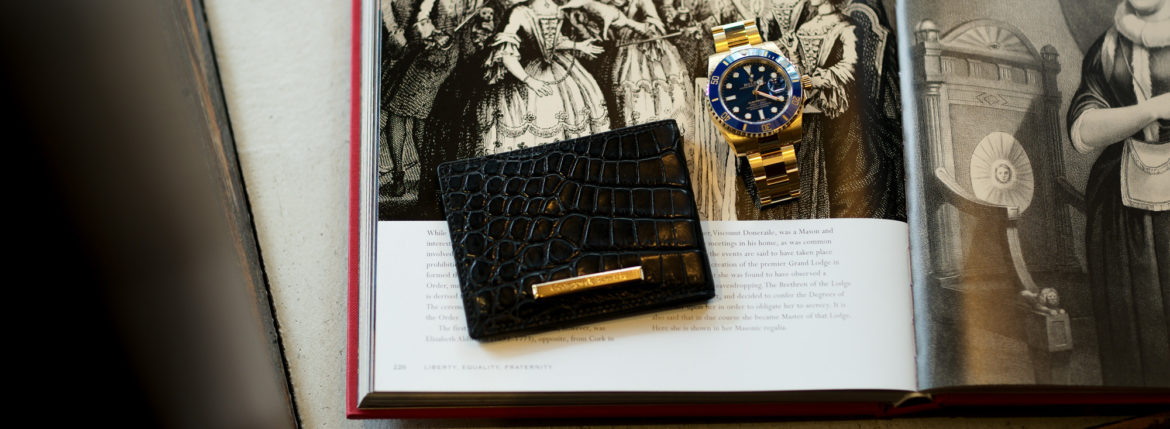 "Georges de Patricia ""Cloud Crocodile 18K GOLD"" × ROLEX ""SUBMARINER DATE 116618LB""のイメージ"