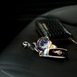 "Georges de Patricia ""Dino 925 STERLING SILVER"" × ROLEX ""SUBMARINER DATE 116618LB"" × Georges de Patricia ""Phantom Crocodile 18K GOLD""のイメージ"