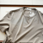 Girelli Bruni (ジレリブルーニ) Crew Neck T-shirt (クルーネック Tシャツ) GIZA 60/2 ギザコットン Tシャツ MILITARY (ミリタリー) made in italy (イタリア製) 2020秋冬新作  【入荷しました】【フリー分発売開始】のイメージ