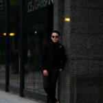 LARDINI (ラルディーニ) EASY WEAR (イージーウエア) Cashmere Jacket カシミア ジャケット BLACK (ブラック・999) Made in italy (イタリア製) 2020秋冬新作のイメージ