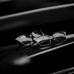 Mr.CASANOVA × cuervo bopoha (ミスターカサノバ × クエルボヴァローナ) STOMP (ストンプ) ブロウ型 アイウェア サングラス BLACK MARBLE DEMI × BLUE SMOKE(ブラックマーブルデミ × ブルースモーク) , BROWN MARBLE DEMI × BLUE SMOKE(ブラウンマーブルデミ × ブルースモーク) HANDCRAFTED IN JAPAN(日本製) 2020 AW 【Special Model】のイメージ