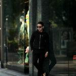 SILENCE(サイレンス) Single Leather Jacket (シングルレザー ジャケット) Goat Suede Leather (ゴートスエード レザー) スウェード シングル ライダースジャケット NERO (ブラック) Made in italy (イタリア製) 2020 秋冬新作 【新作入荷】【フリー分発売開始】のイメージ