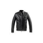 SILENCE(サイレンス) Single Leather Jacket (シングルレザー ジャケット) Lambskin Nappa Leather (ラムナッパ レザー) シングル ライダースジャケット NERO (ブラック) Made in italy (イタリア製) 2020 秋冬新作のイメージ