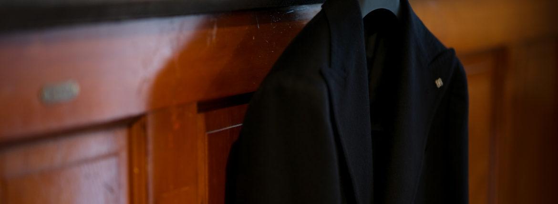 TAGLIATORE (タリアトーレ) PINO LERARIO (ピーノ レラリオ) Cashmere Jacket カシミア ジャケット NERO (ブラック) Made in italy (イタリア製) 2020 秋冬 【ご予約受付中】愛知 名古屋 altoediritto アルトエデリット カシミヤジャケット