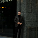 TAGLIATORE (タリアトーレ) PINO LERARIO (ピーノ レラリオ) グレンチェック ジャケット DARK GRAY (ダークグレー) Made in italy (イタリア製) 2020 秋冬 【ご予約受付中】のイメージ