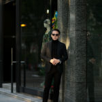 De Petrillo(デ ペトリロ) NAPOLI Posillipo (ナポリ ポジリポ) カシミア モールスキン 段返り3B ジャケット DARK OLIVE(ダークオリーブ・197) Made in italy (イタリア製) 2020 秋冬新作 【入荷しました】【フリー分発売開始】のイメージ
