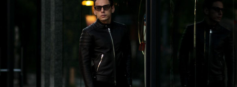 FIXER(フィクサー) F2(エフツー) SINGLE RIDERS Cow Leather シングルライダース ジャケット BLACK(ブラック) 【ご予約受付中】【2020.8.23(Sun)~2020.9.06(Sun)】のイメージ