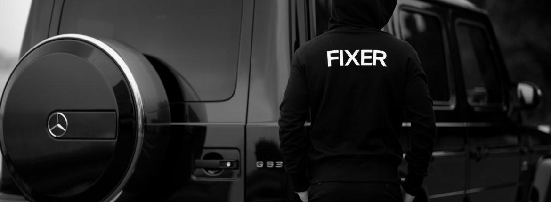 FIXER (フィクサー) FPK-02(エフピーケー02) Sweat Hoodie スウェットフーディー BLACK (ブラック)のイメージ