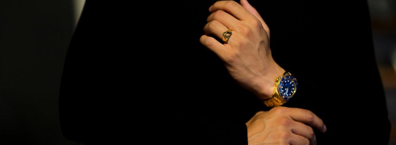 FIXER(フィクサー) ILLUMINATI EYES RING WHITE DIAMOND 18K GOLD SP イルミナティ アイズリング ホワイトダイヤモンド GOLD SP(ゴールド SP) 2020【ご予約開始】【2020.7.16(Thu)~2020.8.02(Sun)】愛知 名古屋 altoediritto アルトエデリット