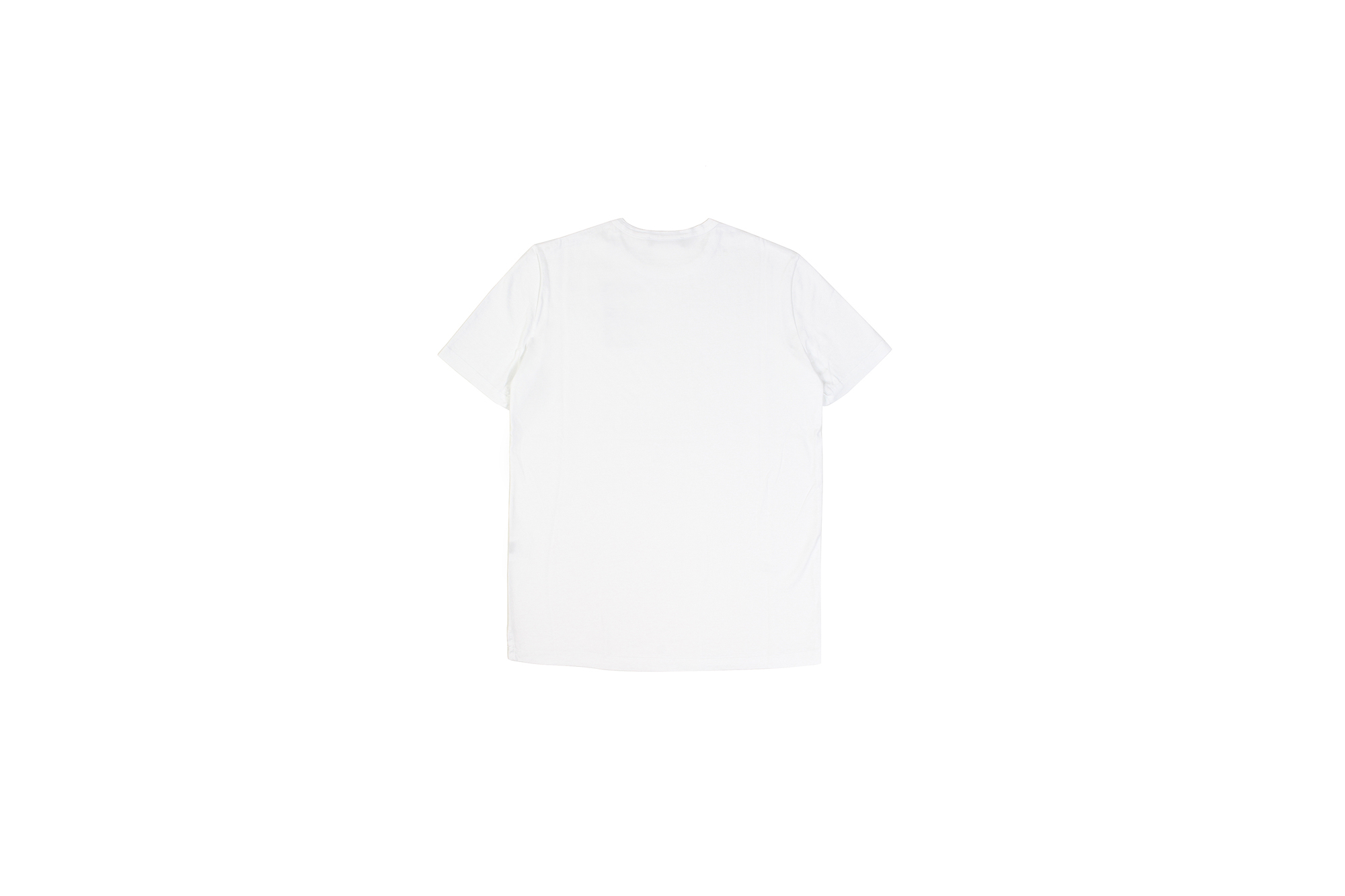 Girelli Bruni (ジレリブルーニ) Crew Neck T-shirt (クルーネック Tシャツ) GIZA 60/2 ギザコットン Tシャツ WHITE (ホワイト) made in italy (イタリア製) 2020秋冬新作  【入荷しました】【フリー分発売開始】 girellibruni 愛知 名古屋 altoediritto アルトエデリット alto e diritto