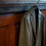 LARDINI (ラルディーニ) EASY WEAR (イージーウエア) Cashmere Jacket カシミア ジャケット GRAY (グレー・900) Made in italy (イタリア製) 2020秋冬新作 愛知 名古屋 altoediritto アルトエデリットカシミヤジャケット