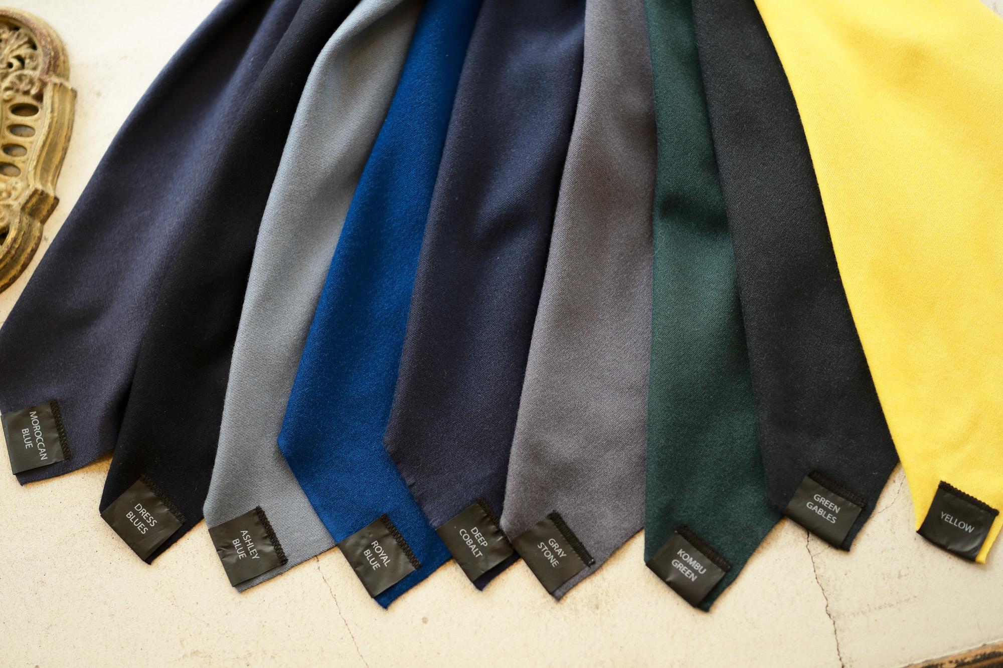 MANRICO CASHMERE (マンリコ カシミア) Summer Cashmere Crew Neck Knit (サマー カシミア クルーネック ニット) サマー カシミヤ ニット ロングスリーブ made in italy (イタリア製) 2021 春夏 【ご予約開始】【全26色】愛知 名古屋 Alto e Diritto アルトエデリット