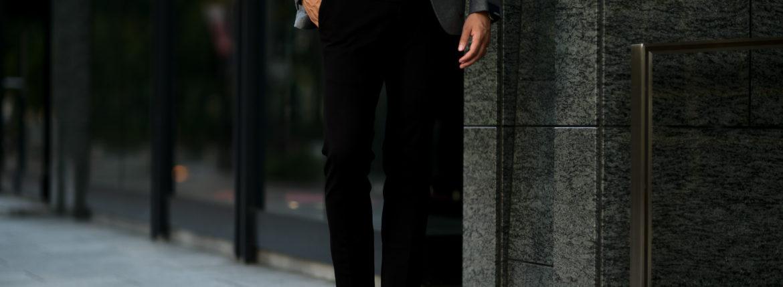 PT TORINO(ピーティートリノ) TRAVELLER (トラベラー) SUPER SLIM FIT (スーパースリムフィット) Stretch Techno Jersey ストレッチ テクノ ジャージ スラックス BLACK (ブラック・0990) 2020 秋冬新作 【入荷しました】【フリー分発売開始】のイメージ