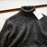 RIVORA (リヴォラ) Cashmere Mohair Silk High Neck (ハイネック セーター) カシミア モヘア シルク ニット タートルネックセーター BLACK (ブラック・010) MADE IN JAPAN (日本製) 2020秋冬新作 【入荷しました】【フリー分発売開始】のイメージ