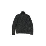 RIVORA (リヴォラ) Cashmere Mohair Silk High Neck (ハイネック セーター) カシミア モヘア シルク ニット タートルネックセーター BLACK (ブラック・010) MADE IN JAPAN (日本製) 2020秋冬新作のイメージ
