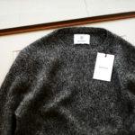 RIVORA (リヴォラ) Cashmere Mohair Silk Round Neck (ラウンドネック セーター) カシミア モヘア シルク ニット クルーネックセーター BLACK (ブラック・010) MADE IN JAPAN (日本製) 2020秋冬新作 【入荷しました】【フリー分発売開始】のイメージ