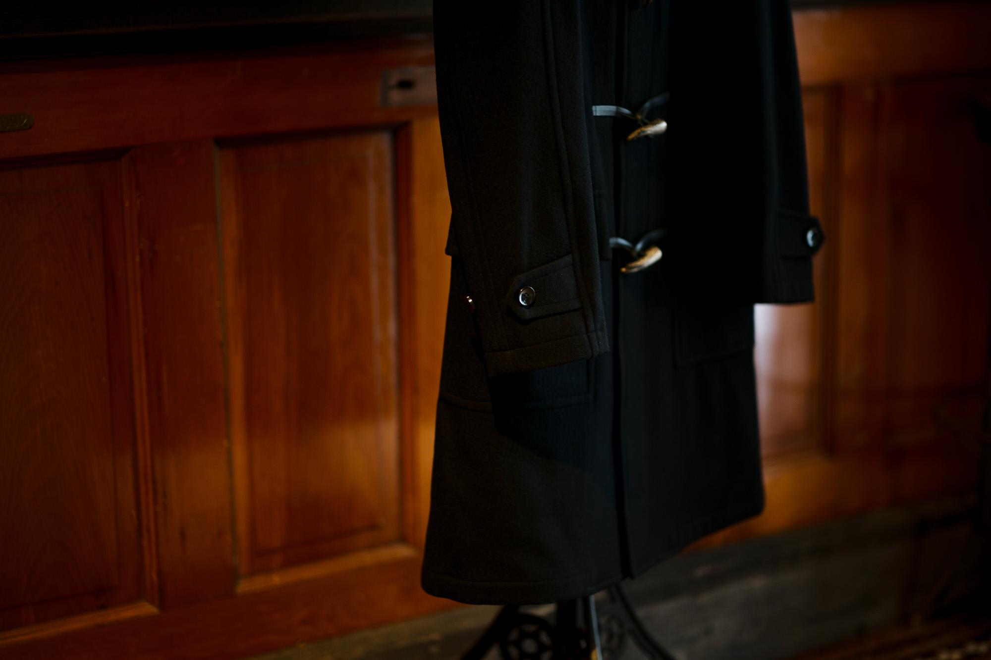 cuervo bopoha (クエルボ ヴァローナ) Sartoria Collection (サルトリア コレクション) David (デヴィッド) Cashmere カシミア ダッフルコート BLACK (ブラック) MADE IN JAPAN (日本製) 2020 秋冬 愛知 名古屋 altoediritto アルトエデリット ダッフル カシミヤ