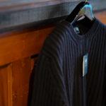FEDELI (フェデリ) Cashmere Crew Neck Sweater (カシミア クルーネック セーター) CASHMERE VINTAGE (カシミヤ ヴィンテージ) ローゲージ カシミアニット セーター BLACK (ヴィンテージブラック・16) made in italy (イタリア製) 2020 秋冬新作 愛知 名古屋 Alto e Diritto アルトエデリット カシミヤニット カシミアニット