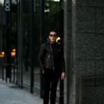 FIXER(フィクサー) F1(エフワン) DOUBLE RIDERS Cow Leather ダブルライダース ジャケット BLACK(ブラック) 【ご予約開始します】【2020.9.12(Sat)~2020.9.27(Sun)】愛知 名古屋 altoediritto アルトエデリット ライダースコーデ レザージャケット レザーコーデ
