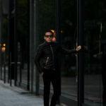 FIXER(フィクサー) F2(エフツー) SINGLE RIDERS Cow Leather シングルライダース ジャケット BLACK(ブラック) 【ご予約開始します】【2020.9.26(Sat)~2020.10.11(Sun)】 altoediritto アルトエデリット 愛知 名古屋 レザージャケット ライダースジャケット スペシャルモデル